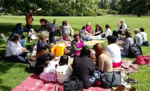 Picnic in Osterley Park 2 19.8.17